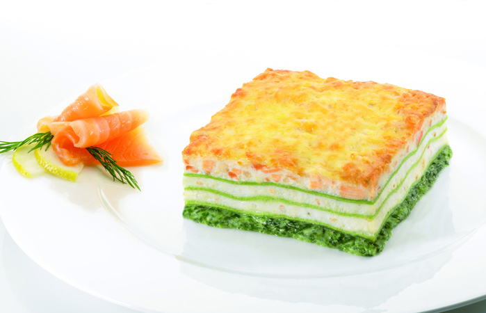 Giacobbe Pasta GmbH Lasagne Lachs 1/1 Gastronorm 9000 g